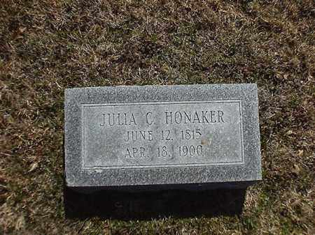 HONAKER, JULIA  C - Brown County, Ohio | JULIA  C HONAKER - Ohio Gravestone Photos
