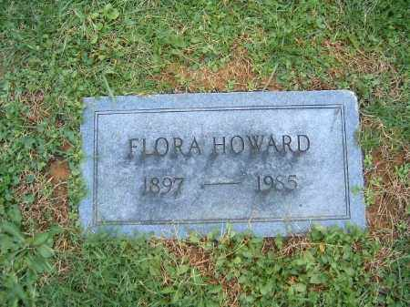 HOWARD, FLORA - Brown County, Ohio | FLORA HOWARD - Ohio Gravestone Photos