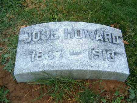HOWARD, JOSE - Brown County, Ohio | JOSE HOWARD - Ohio Gravestone Photos