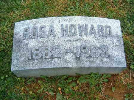 HOWARD, ROSA - Brown County, Ohio | ROSA HOWARD - Ohio Gravestone Photos