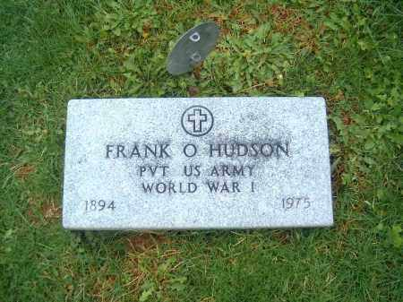 HUDSON, FRANK O - Brown County, Ohio | FRANK O HUDSON - Ohio Gravestone Photos