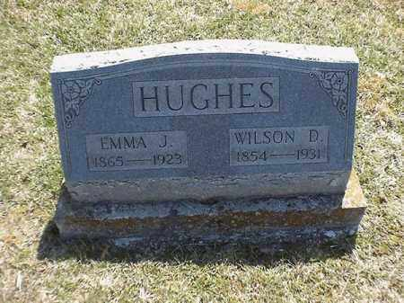 HUGHES, EMMA  J - Brown County, Ohio | EMMA  J HUGHES - Ohio Gravestone Photos