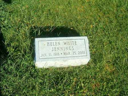 WHITE JENNINGS, HELEN - Brown County, Ohio | HELEN WHITE JENNINGS - Ohio Gravestone Photos