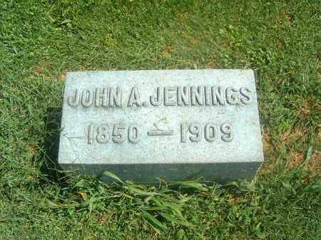 JENNINGS, JOHN A - Brown County, Ohio | JOHN A JENNINGS - Ohio Gravestone Photos
