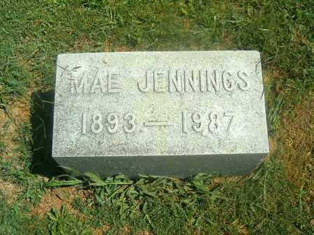 JENNINGS, MAE - Brown County, Ohio | MAE JENNINGS - Ohio Gravestone Photos