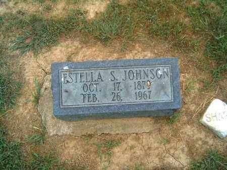 JOHNSON, ESTELLA   S - Brown County, Ohio | ESTELLA   S JOHNSON - Ohio Gravestone Photos