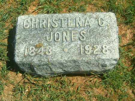 JONES, CHRISTENA  G - Brown County, Ohio | CHRISTENA  G JONES - Ohio Gravestone Photos