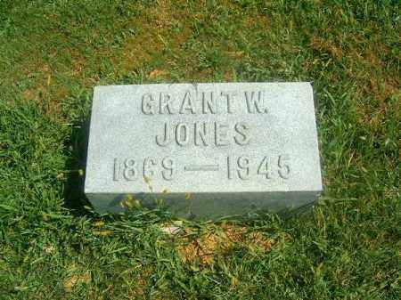 JONES, GRANT   W - Brown County, Ohio | GRANT   W JONES - Ohio Gravestone Photos