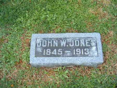 JONES, JOHN  W - Brown County, Ohio | JOHN  W JONES - Ohio Gravestone Photos