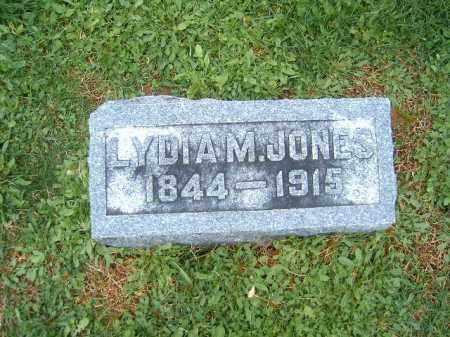 JONES, LYDIA  M - Brown County, Ohio   LYDIA  M JONES - Ohio Gravestone Photos