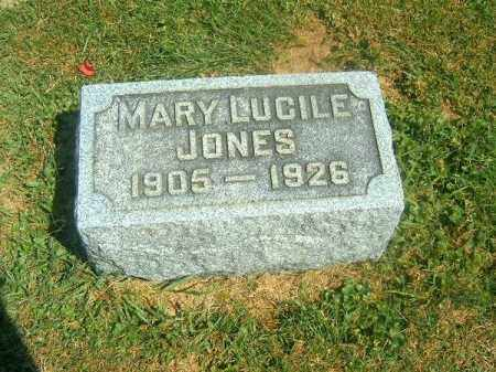 JONES, MARY LUCILE - Brown County, Ohio | MARY LUCILE JONES - Ohio Gravestone Photos