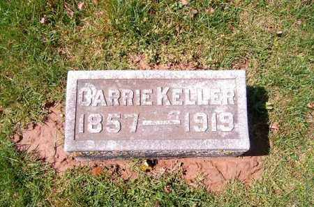 KELLER, CARRIE - Brown County, Ohio | CARRIE KELLER - Ohio Gravestone Photos