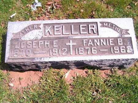 KELLER, FANNIE  B - Brown County, Ohio | FANNIE  B KELLER - Ohio Gravestone Photos