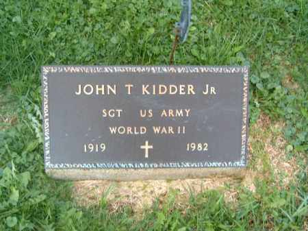 KIDDER, JOHN  T  JR - Brown County, Ohio | JOHN  T  JR KIDDER - Ohio Gravestone Photos