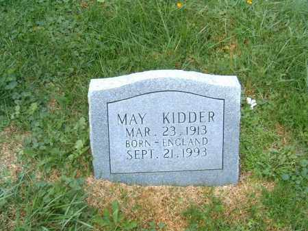 KIDDER, MAY - Brown County, Ohio | MAY KIDDER - Ohio Gravestone Photos