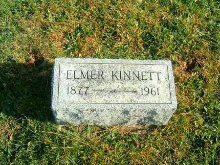 KINNETT, ELMER - Brown County, Ohio | ELMER KINNETT - Ohio Gravestone Photos