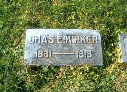 KIRKER, CHAS  E - Brown County, Ohio | CHAS  E KIRKER - Ohio Gravestone Photos