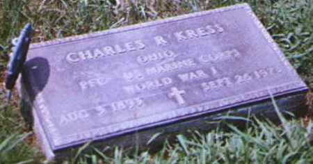 KRESS, CHARLES - Brown County, Ohio | CHARLES KRESS - Ohio Gravestone Photos