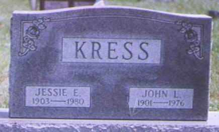 KRESS, JOHN - Brown County, Ohio | JOHN KRESS - Ohio Gravestone Photos