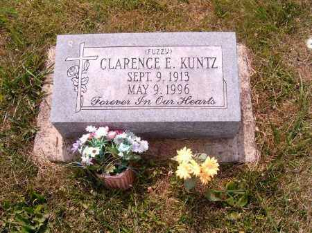 KUNTZ, CLARENCE  E - Brown County, Ohio | CLARENCE  E KUNTZ - Ohio Gravestone Photos