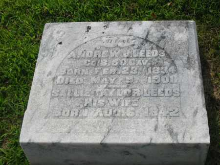 LEEDS, ANDREW J - Brown County, Ohio | ANDREW J LEEDS - Ohio Gravestone Photos
