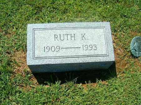 LIMING, RUTH  K - Brown County, Ohio | RUTH  K LIMING - Ohio Gravestone Photos