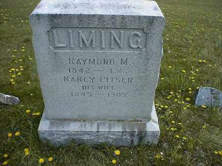PITSER LIMING, NANCY - Brown County, Ohio | NANCY PITSER LIMING - Ohio Gravestone Photos