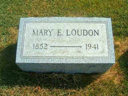 LOIDON, MARY  E - Brown County, Ohio | MARY  E LOIDON - Ohio Gravestone Photos