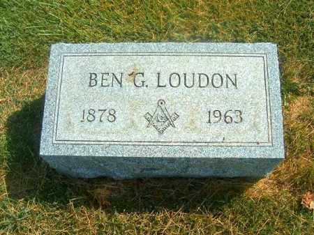 LOUDON, BEN  G - Brown County, Ohio | BEN  G LOUDON - Ohio Gravestone Photos