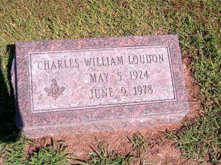 LOUDON, CHARLES  WILLIAM - Brown County, Ohio | CHARLES  WILLIAM LOUDON - Ohio Gravestone Photos