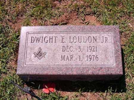LOUDON, DWIGHT  E  JR - Brown County, Ohio | DWIGHT  E  JR LOUDON - Ohio Gravestone Photos