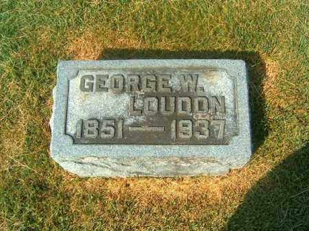 LOUDON, GEORGE  W - Brown County, Ohio | GEORGE  W LOUDON - Ohio Gravestone Photos