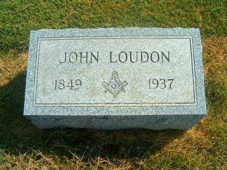 LOUDON, JOHN - Brown County, Ohio | JOHN LOUDON - Ohio Gravestone Photos