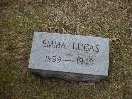 LUCAS, EMMA - Brown County, Ohio | EMMA LUCAS - Ohio Gravestone Photos