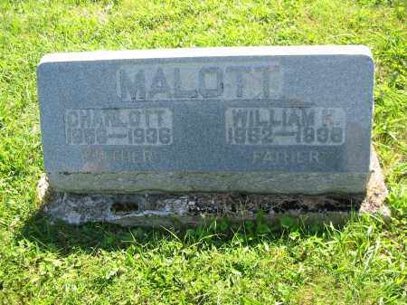 MALOTT, WILLIAM HENRY - Brown County, Ohio | WILLIAM HENRY MALOTT - Ohio Gravestone Photos
