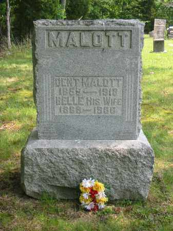 MALOTT, DENT - Brown County, Ohio | DENT MALOTT - Ohio Gravestone Photos