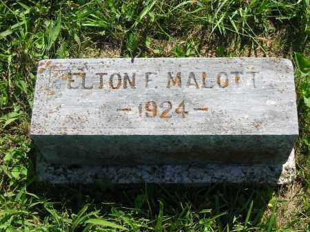 MALOTT, ELTON FLOYD - Brown County, Ohio | ELTON FLOYD MALOTT - Ohio Gravestone Photos