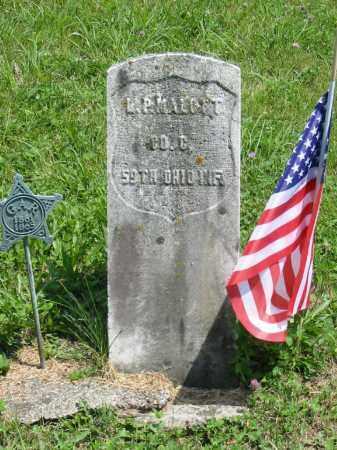 MALOTT, L P - Brown County, Ohio | L P MALOTT - Ohio Gravestone Photos