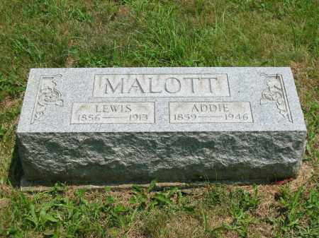 MALOTT, ADDIE - Brown County, Ohio | ADDIE MALOTT - Ohio Gravestone Photos