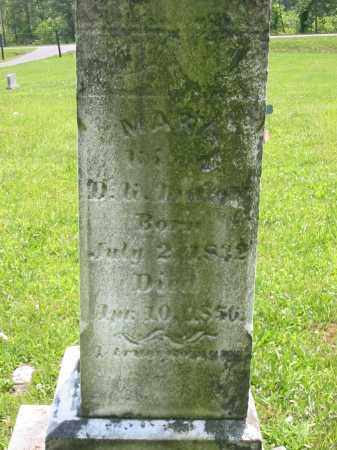MALOTT, MARY - Brown County, Ohio | MARY MALOTT - Ohio Gravestone Photos