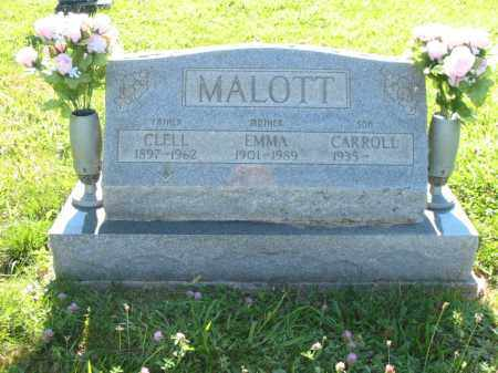 PATTON MALOTT, EMMA ALMIRA - Brown County, Ohio | EMMA ALMIRA PATTON MALOTT - Ohio Gravestone Photos