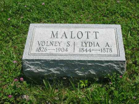 MALOTT, LYDIA ANN - Brown County, Ohio | LYDIA ANN MALOTT - Ohio Gravestone Photos