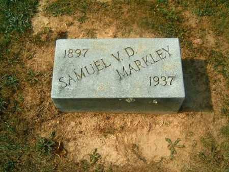 MARKLEY, SAMUEL  V D - Brown County, Ohio | SAMUEL  V D MARKLEY - Ohio Gravestone Photos