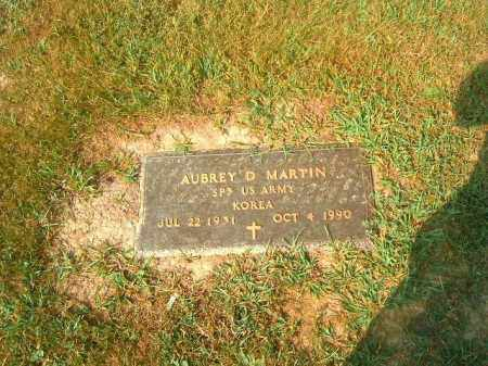 MARTIN, AUBREY  D - Brown County, Ohio | AUBREY  D MARTIN - Ohio Gravestone Photos