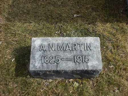 MARTIN, A N - Brown County, Ohio | A N MARTIN - Ohio Gravestone Photos