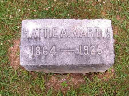 MARTIN, HATTIE  A - Brown County, Ohio | HATTIE  A MARTIN - Ohio Gravestone Photos