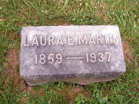 MARTIN, LAURA  E - Brown County, Ohio | LAURA  E MARTIN - Ohio Gravestone Photos