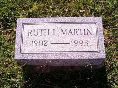 MARTIN, RUTH   L - Brown County, Ohio | RUTH   L MARTIN - Ohio Gravestone Photos
