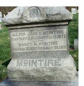 MCINTIRE, NANCY N. - Brown County, Ohio | NANCY N. MCINTIRE - Ohio Gravestone Photos
