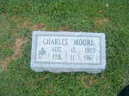 MOORE, CHARLES - Brown County, Ohio | CHARLES MOORE - Ohio Gravestone Photos